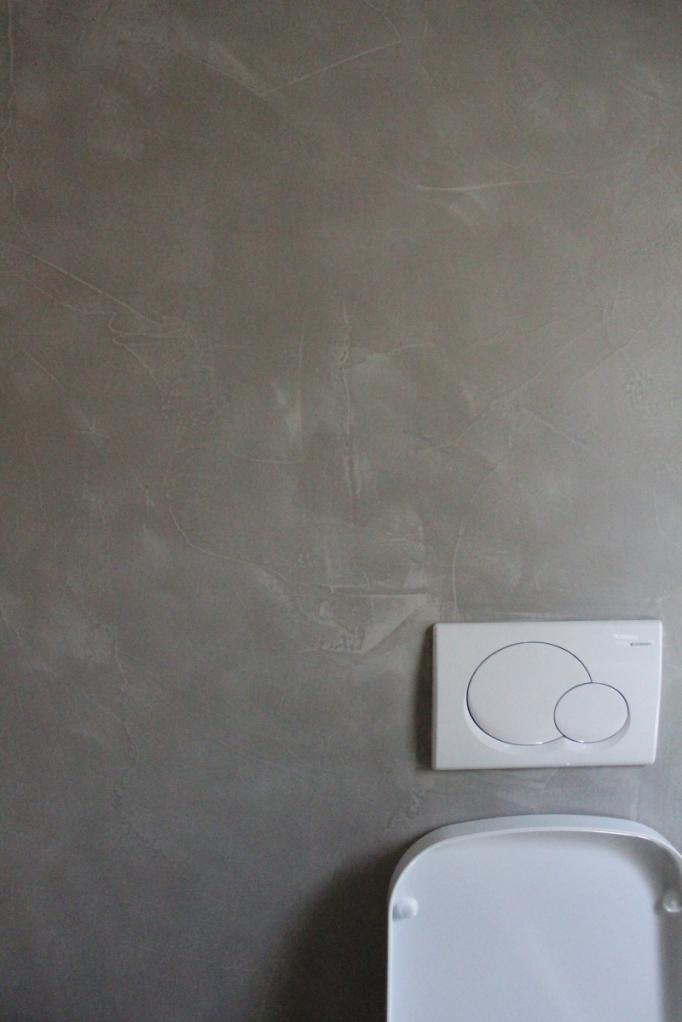 grigio rivestimenti parete bagno  oraziresine